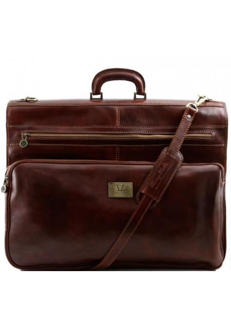 Odevná cestovná taška TUSCANY hnedá - All4Men.sk d6e2d92b6ce