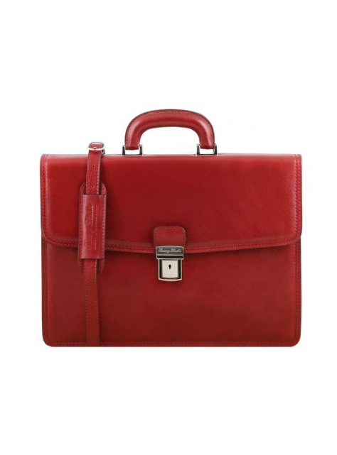 Pánska aktovka na dokumenty AMALFI TUSCANY LEATHER bordo 141351 - All4Men.sk