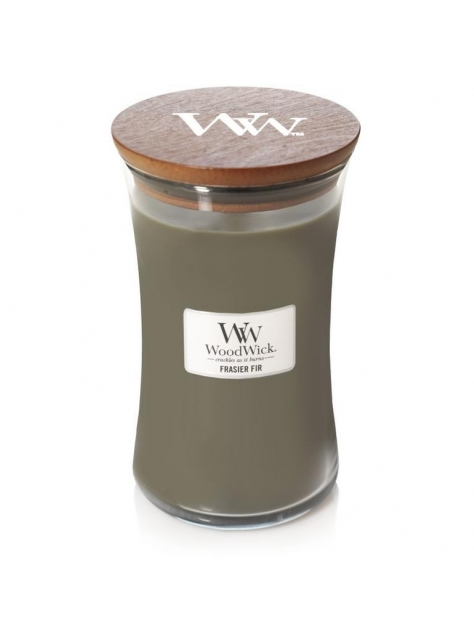 Vonná sviečka Woodwick - Frasier Fir 609g - All4Men.sk