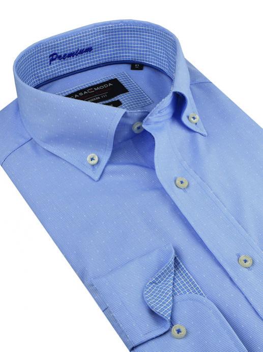 51a48bc03 Biznis košeľa CASAMODA Premium | Bavlnené košele bez žehlenia | All4Men.sk  | All4Men.sk