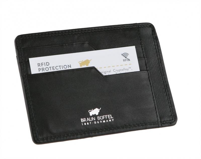 602885369 Bezpečnostné puzdro na karty a doklady BRAUN BUFFEL 90014 | All4Men.sk