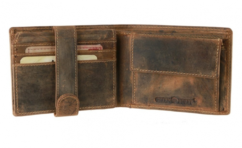 fda9820dfa Pánska peňaženka RFID GREENBURRY hnedá. Top produkt