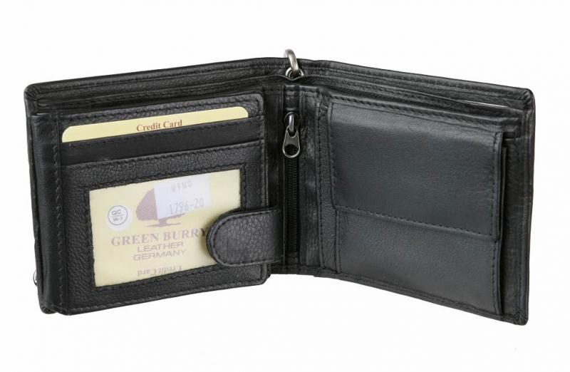 1a155ca922 Pánska peňaženka Black Wings GREENBURRY čierna. Top produkt
