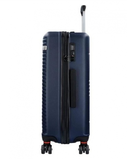 e142a22bfde34 Malý cestovný kufor do lietadla FABRIZIO modrý | All4Men.sk