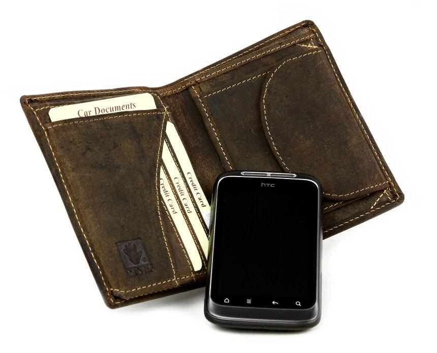 b591896c51 Peňaženky GreenBurry z masívnej kože 1701-25